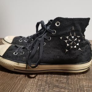 Converse All Star Hi Top Studded Sneakers